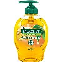 Palmolive Naturals Jabón Líquido Antibacterial para Manos Arból de Té con extracto de Jengibre, 221 ml