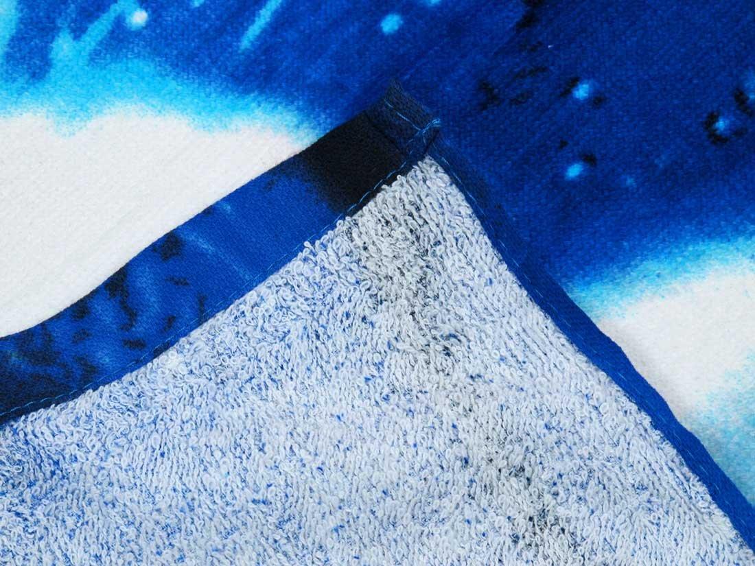 Things2Die4 Celestial Sun Moon Beach Towel 60 Inches X 30 Inches