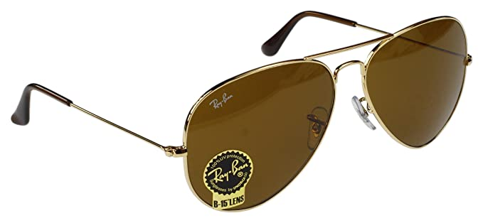 Lunettes Metal De Ray Soleil Large Aviator Ban Grand Verre Taille kwXZuOPiT