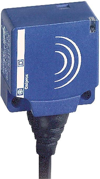 Schneider Electric XS7E1A1DAL2 Detector Inductivo Xs7, Forma E Plana, Sn 10 Mm, Empotrado, Cable 2 M: Amazon.es: Industria, empresas y ciencia