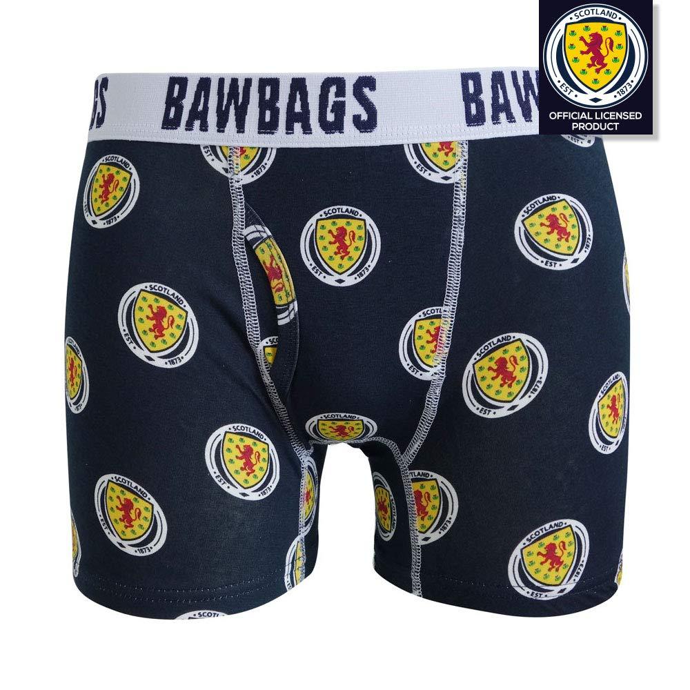 Scotland National Team - Badge Boxer Shorts Bawbags