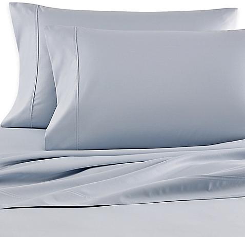 Wamsutta® 620-Thread-Count Olympic Queen Sheet Set in Light Blue - BedBathandBeyond.com