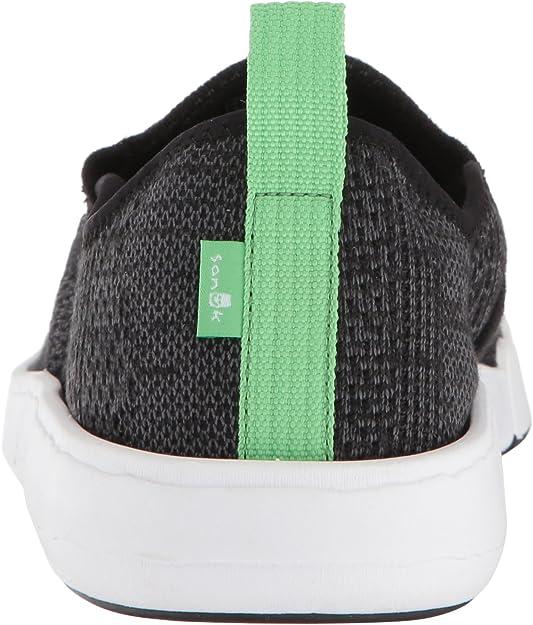 Sanuk CHIBA QUEST KNIT Black Multi Fade Men/'s Knit Sneakers 1105055