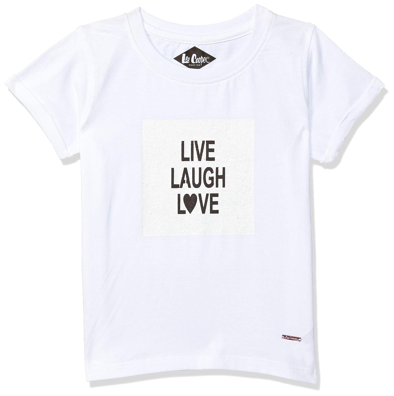 Loot Deal Lee Cooper Girl's T-Shirt