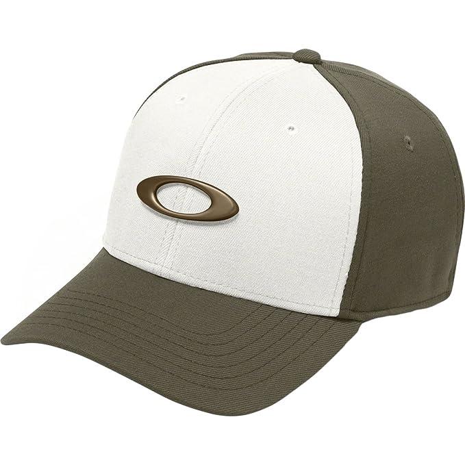 newest 049c5 d86a5 Oakley Men s Tincan Cap, Dark Brush, Small Medium