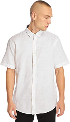 Only & Sons Onscaiden SS Linen Shirt Noos Camisa para Hombre: Amazon.es: Ropa y accesorios