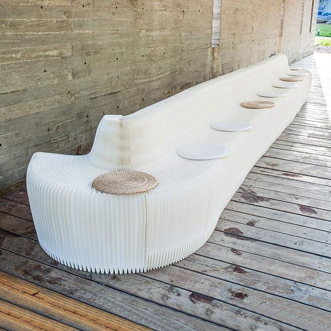 Amazon.com: Silla de bar de diseño moderno, portátil ...