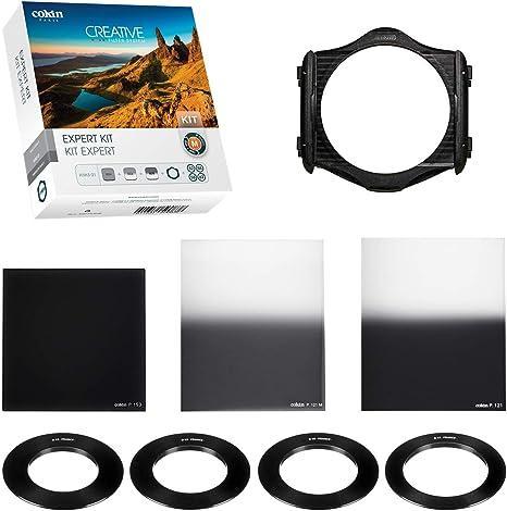 Cokin Kit Expert M Conjunto de 3 filtros Densidad Neutra con Microfibra Color Gris Neutro: Amazon.es: Electrónica