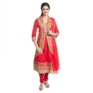 Cynthia S Fashion Cfk279 Red Bust 40 New Women S Indian Ethnic