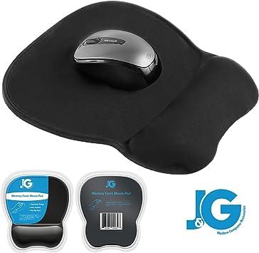 New Black Thin Wrist Comfort Mouse Rest Soft Comfort Mousepad Mice Mat Pad 052