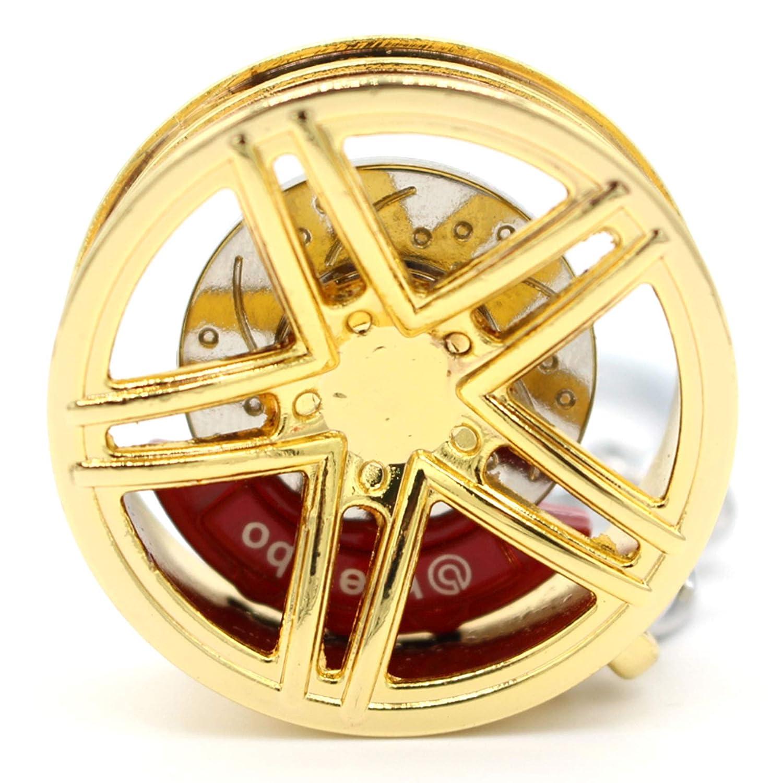 VmG-Store Llavero Llanta de Metal design109/Colgante para Llaves Gold Chrom