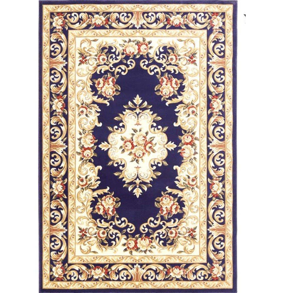 ZY Teppich Wohnzimmer Wasserdichte Anti-rutsch-matten Schlafzimmer couchtisch europäischen Stil Stil Stil geschnitten-I 180x250cm(71x98inch) B07D6TNB1C Duschmatten fdb66b