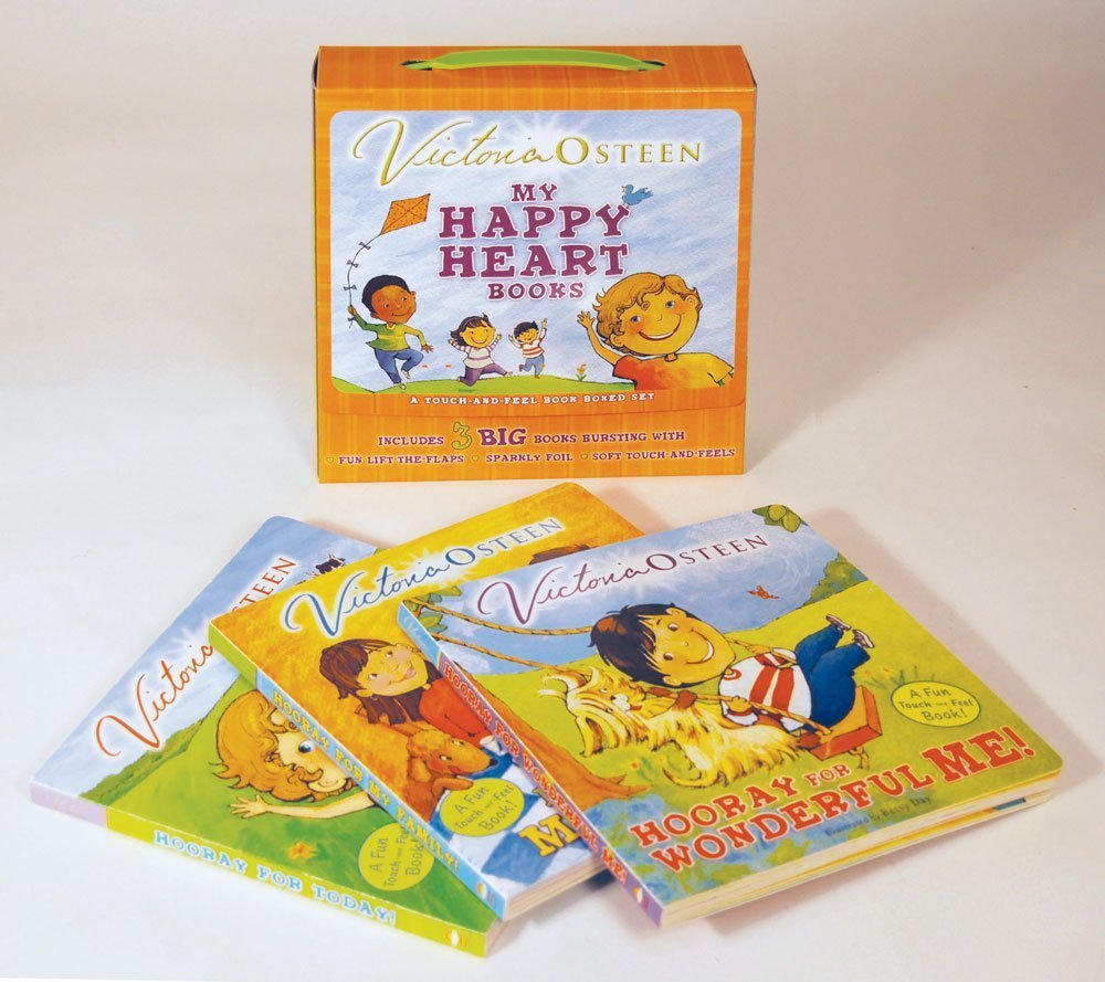 My Happy Heart Books: A Touch-and-Feel Book Boxed Set: Victoria Osteen,  Betsy Day: 9781416955498: Amazon.com: Books