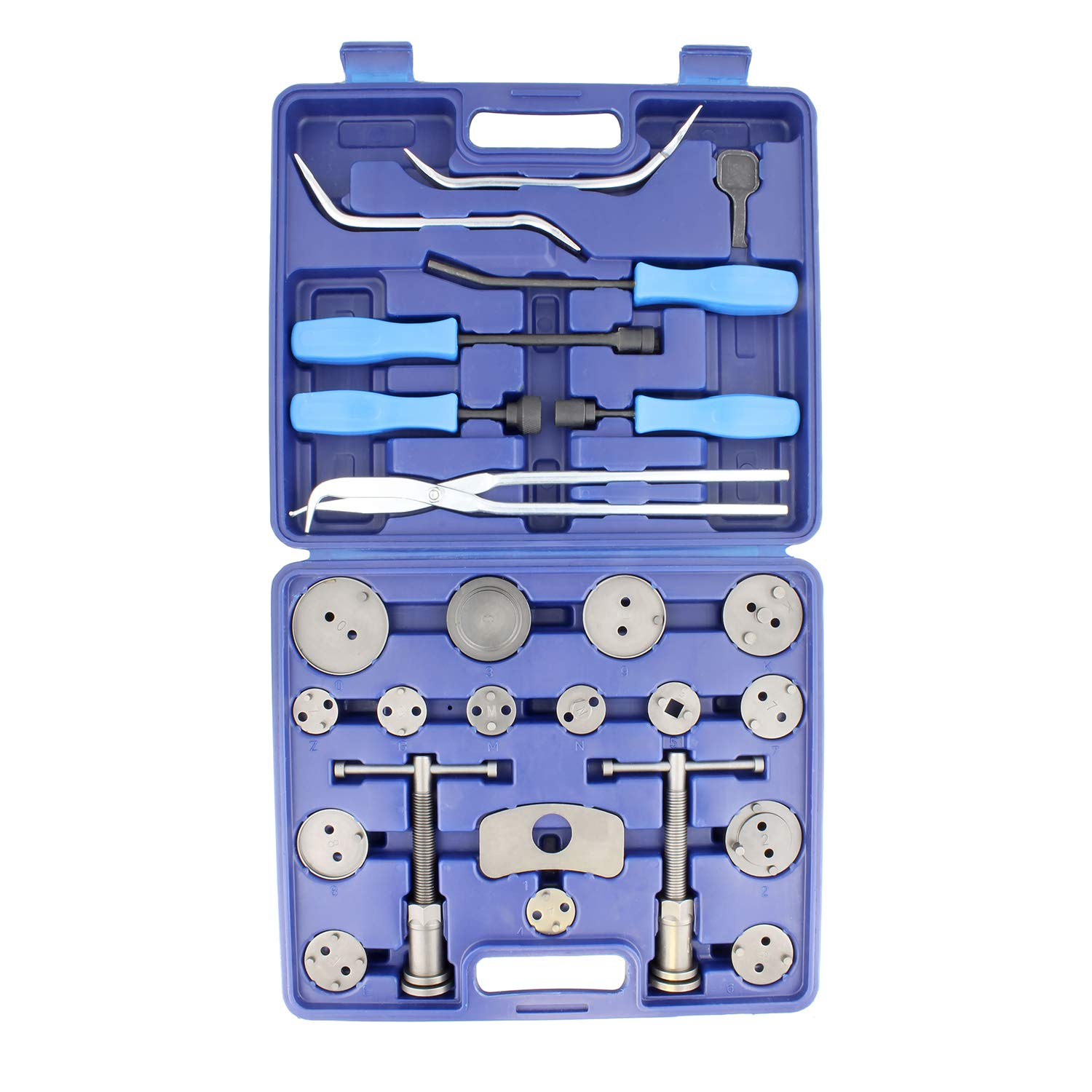 ABN Brake Tool Sets w/ 18 Pc Disc Brake Caliper Tool Kit & 8 Pc Drum Brake Tool Kit – Removal and Installation Tools by ABN (Image #5)