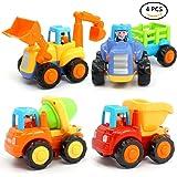Véhicules de Construction Camion Benne Jouet Enfants Engins Équipe Jouet Varié Miniature Kit 3 ans