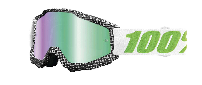 Inconnu 100/% Prozent Accuri Goggle Brille Verspiegelt DH MTB MX Downhill Mountain Bike Moto Cross Modell Zest HU-GOG-0020