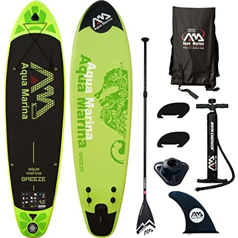 Aqua marina - Tabla de paddle surf hinchable, Breeze Vert ...