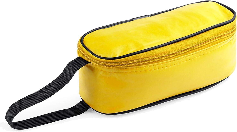 Natuiahan Portabocadillos Aislante Bolsa Sandwich Premium con Asa en Nylon Reforzado, Cierre de Cremallera y Interior en Forro de Aluminio. Fiambrera Pequeña Práctica