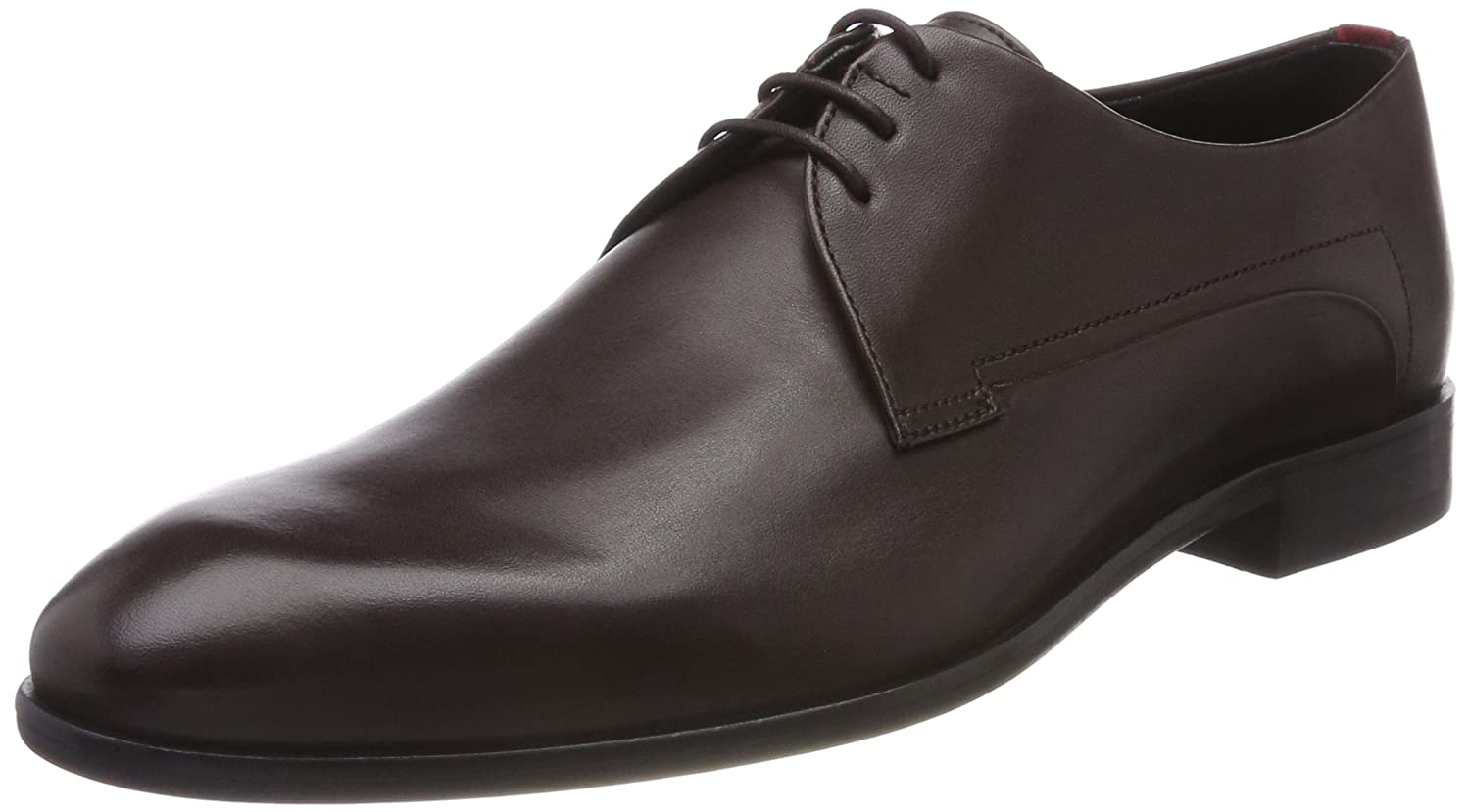 New Mens HUGO Brown Appeal/_derb/_it Leather Shoes Lace Up
