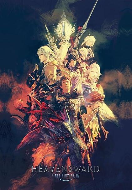 Amazon com: Printing Pira - Final Fantasy XIV Heavensward Poster Key