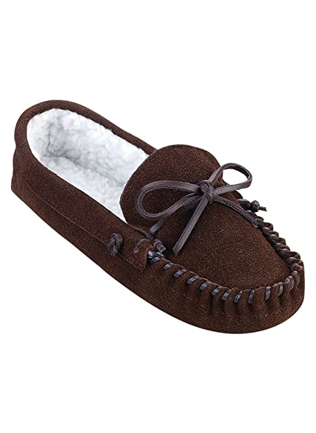 Carol Wright Gifts Women s Leather Slippers 250e29e34b