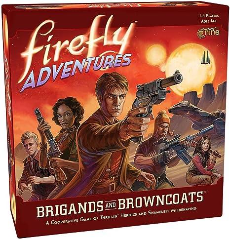 Gale Force Nine- Nein Firefly Adventures: Brigands y Browncoats, Juego, Multicolor (FADV01): Amazon.es: Juguetes y juegos