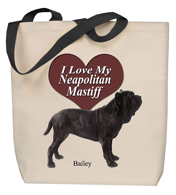 Mastiff Tote Bag Personalized