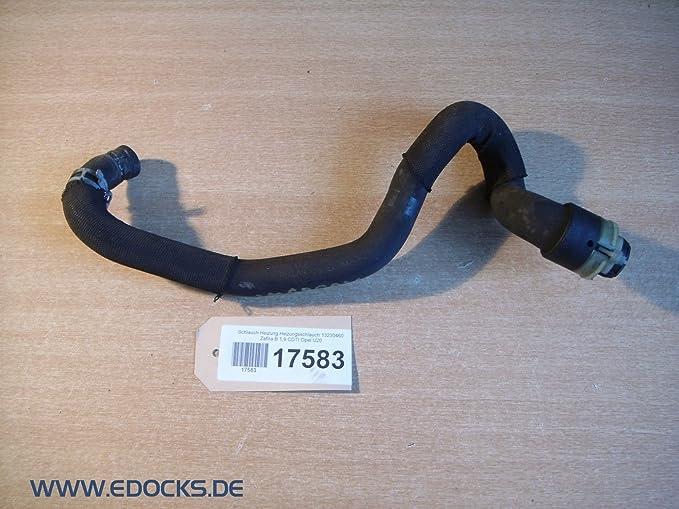 Manguera Calefacción Calefacción Manguera 13230460 Zafira B 1,9 CDTI Opel: Amazon.es: Coche y moto