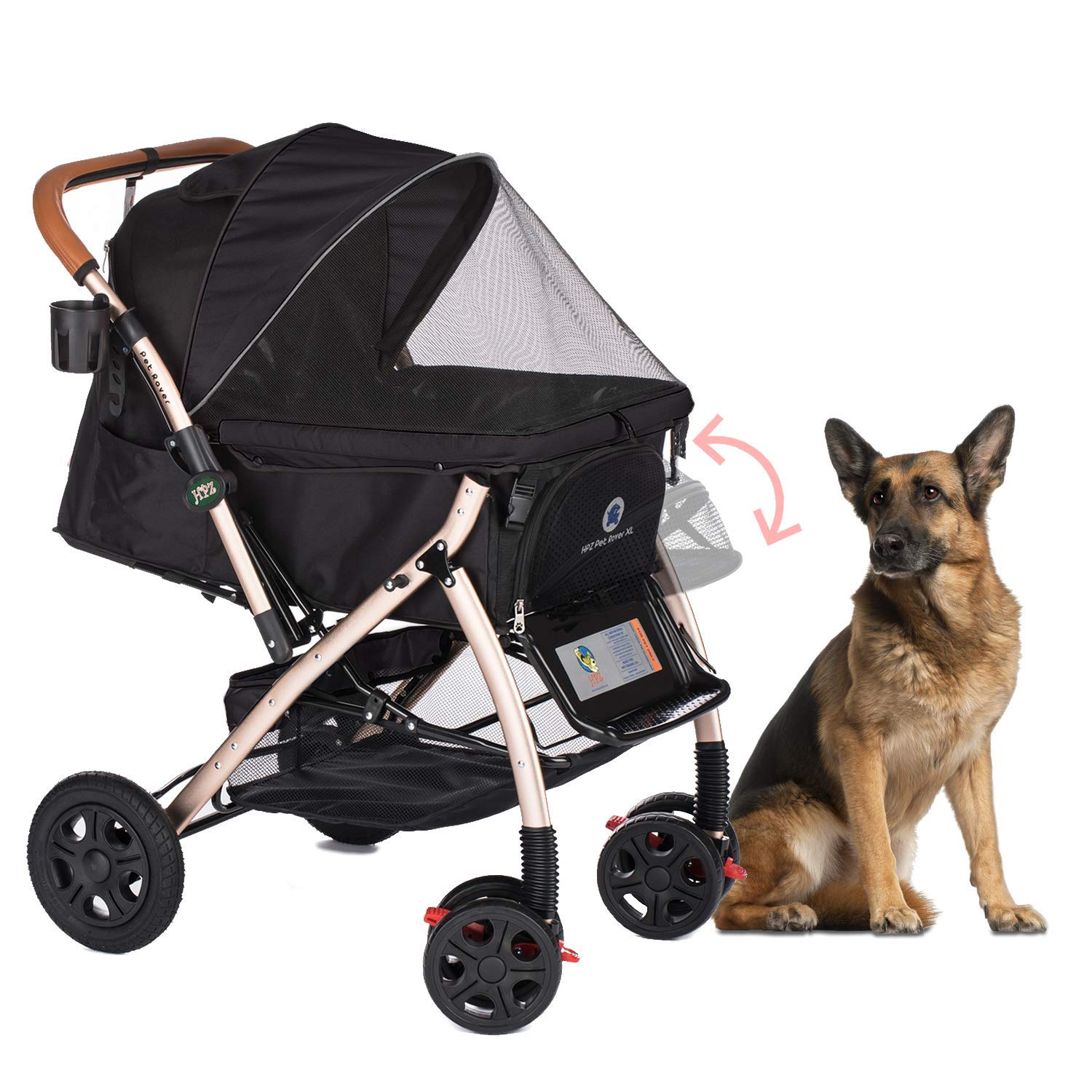 7 Best Dog strollers for Small, Medium and Large Dogs 7