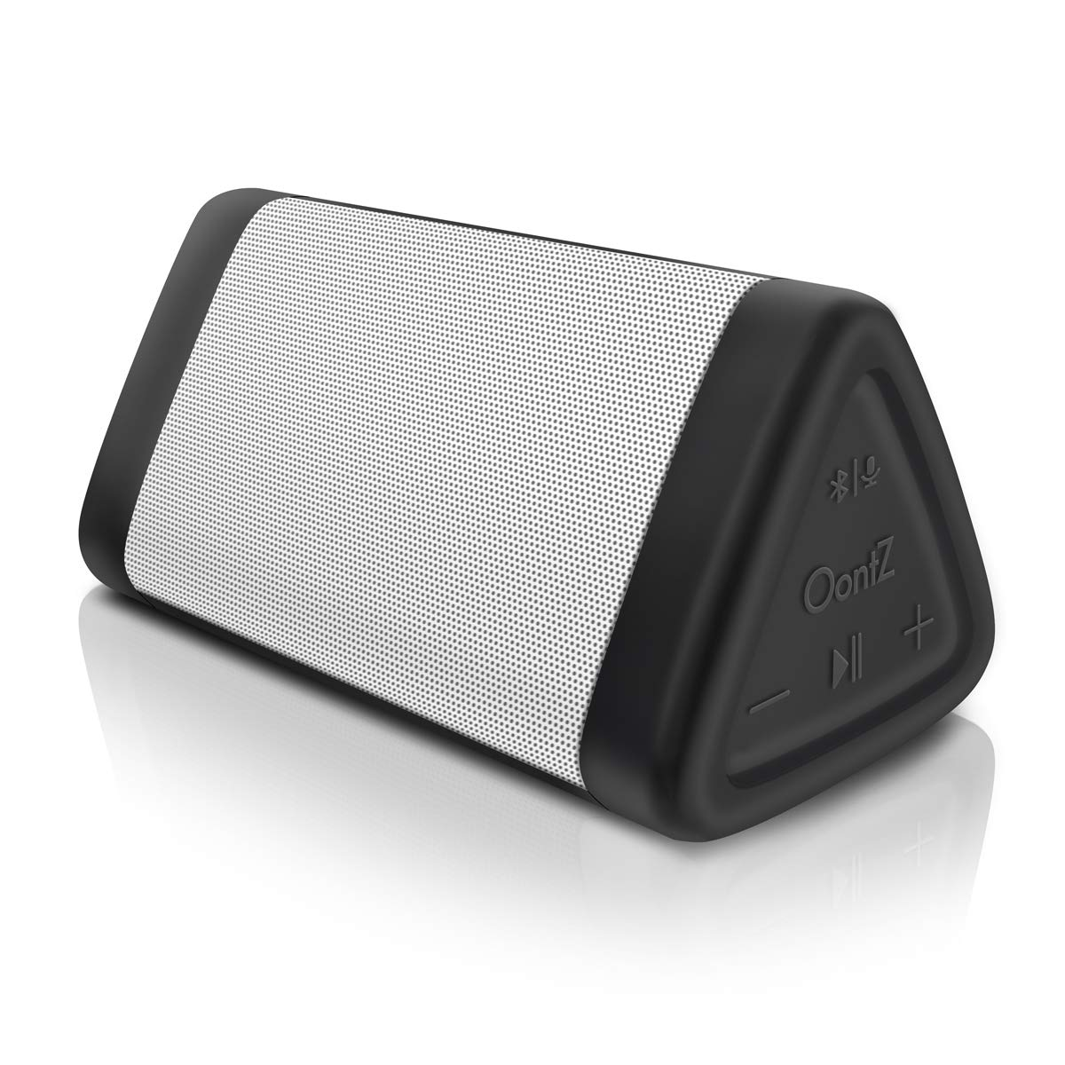 OontZ Angle 3 (3rd Gen) Portable Bluetooth Speaker, Louder Crystal Clear Stereo Sound, Rich Bass, 100 Ft Wireless Speaker Range, IPX5, Bluetooth Speakers by Cambridge SoundWorks (White) by Cambridge Soundworks (Image #1)