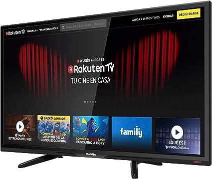 MAGNA - Televisión LED de 40 Pulgadas Smart TV LEDSERIES40, TFT ...