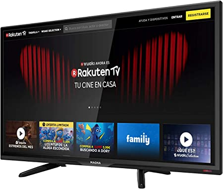 MAGNA - Televisión LED de 40 Pulgadas Smart TV LEDSERIES40, TFT LCD LED 40