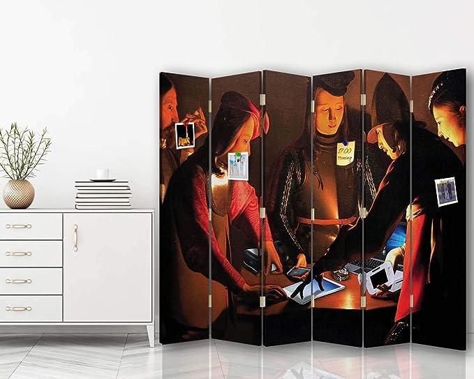 carowall CAROWALL.COM Biombo por el Artista Moderne 6 Paneles 360 ...