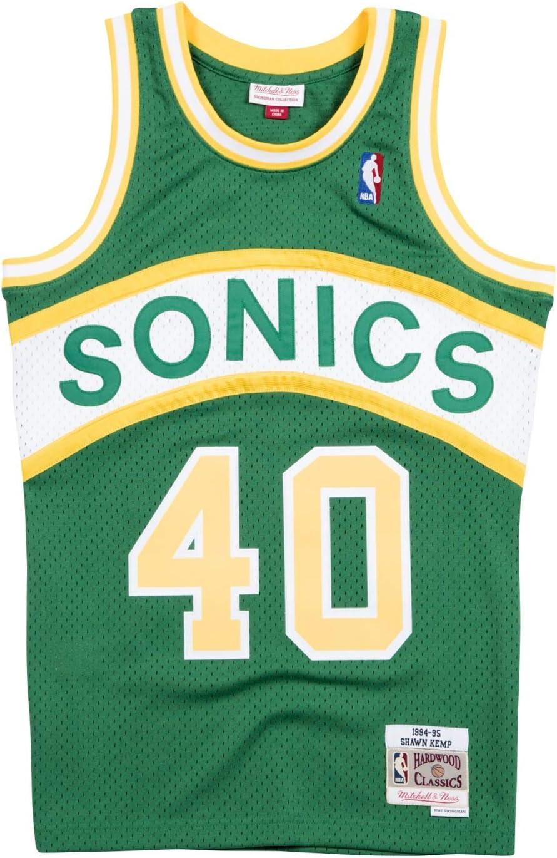 Shawn Kemp Seattle Supersonics NBA