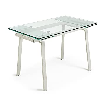 Punch 200X80Beige Extensible Kave Home Table Verre 140 dCrQxsthB