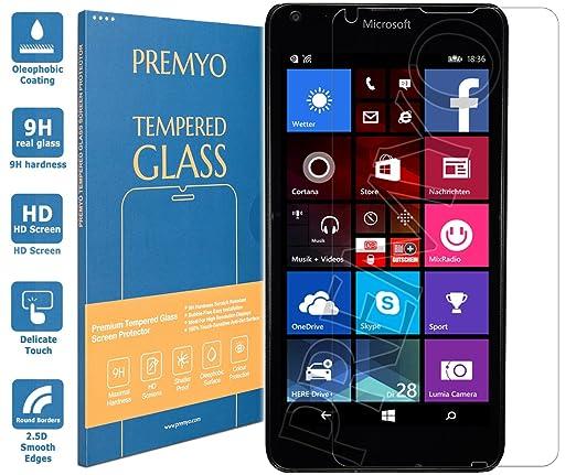 167 opinioni per PREMYO vetro temperato Lumia 640. Pellicola vetro temperato Lumia 640 con una