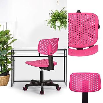 n.b.f - Silla de escritorio para niños plástico 3 colores ...
