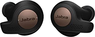 Jabra Elite Active 65t Earbuds – True Wireless Earbuds with Charging Case, Copper Black –  Bluetooth Earbuds with a...
