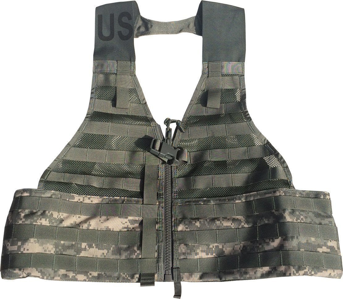 SDS Official US Military MOLLE II Army ACU FLC Fighting Tactical Assault Vest Carrier by SDS