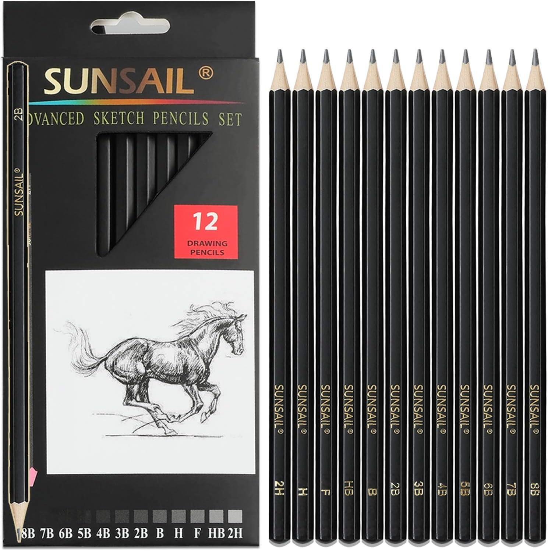 art supplies party custom pencils artist pencils HB grade Personalised HB pencils sketch pencils lead pencils artist supplies
