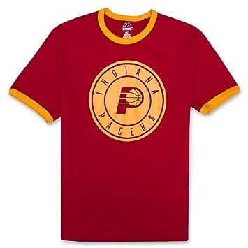NBA deportes atléticos los niños sudadera de manga corta camiseta con logotipo, Indiana Pacers