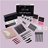 Libeauty Lash Lift and Tint Kit, Brow Lamination and Tint Kit, Black Eyelash Dye and Lift 2 in 1, Voluminous Tinting Make Las
