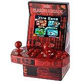 Goolsky Mise à Niveau Mini Classique Arcade Jeu Cabinet Machine Double Joystick Retro Handheld Player avec Intégré 183 Jeux