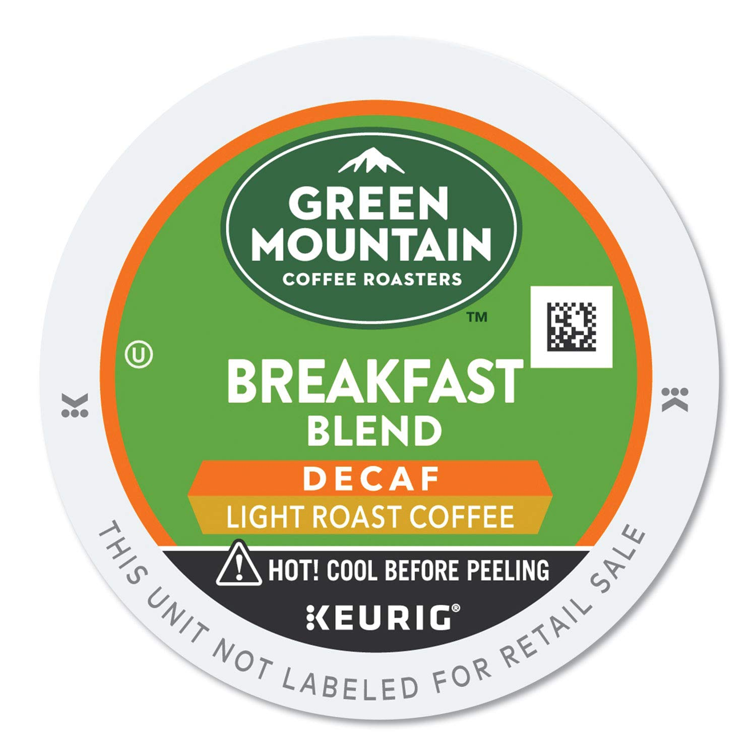 Green Mountain Coffee Decaf Breakfast Blend(Light Roast Coffee), K-Cup Portion Pack for Keurig K-Cup Brewers (Pack of 24)