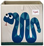 Amazon Price History for:3 Sprouts Storage Box, Snake, Blue