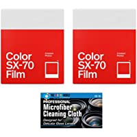 Impossible/Polaroid Color Glossy Film Polaroid SX70 Cameras - 2 Pack