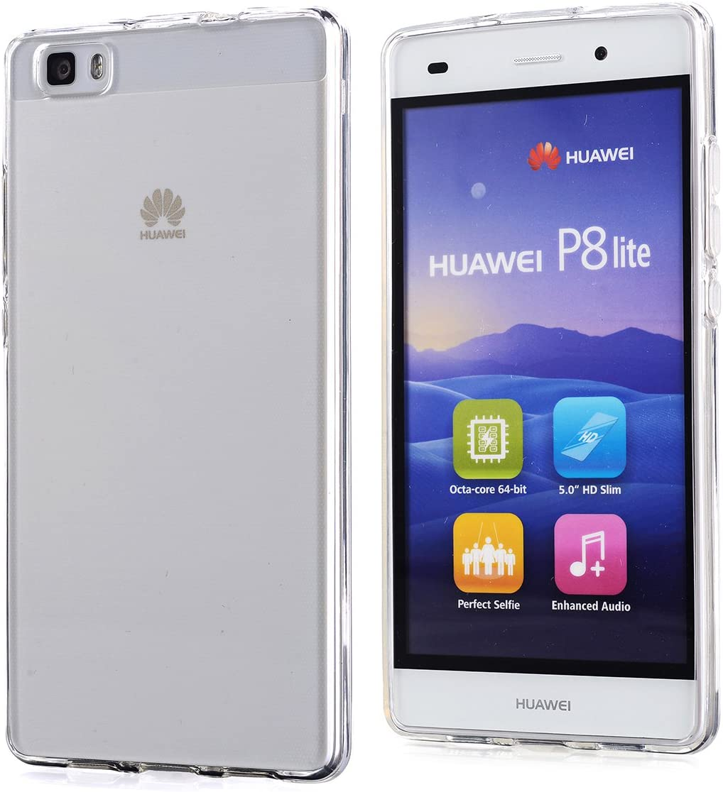 Arbalest® Funda Huawei P8 Grace Lite, [Crystal Clear] [Jelly ...