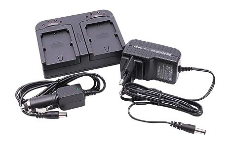 vhbw 220V Cargador rápido Dual 2 Ranuras Incluye Cargador ...