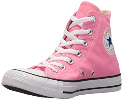 0cadc1a8eb6c Image Unavailable. Image not available for. Color  Converse All Star Hi  Pink Canvas ...
