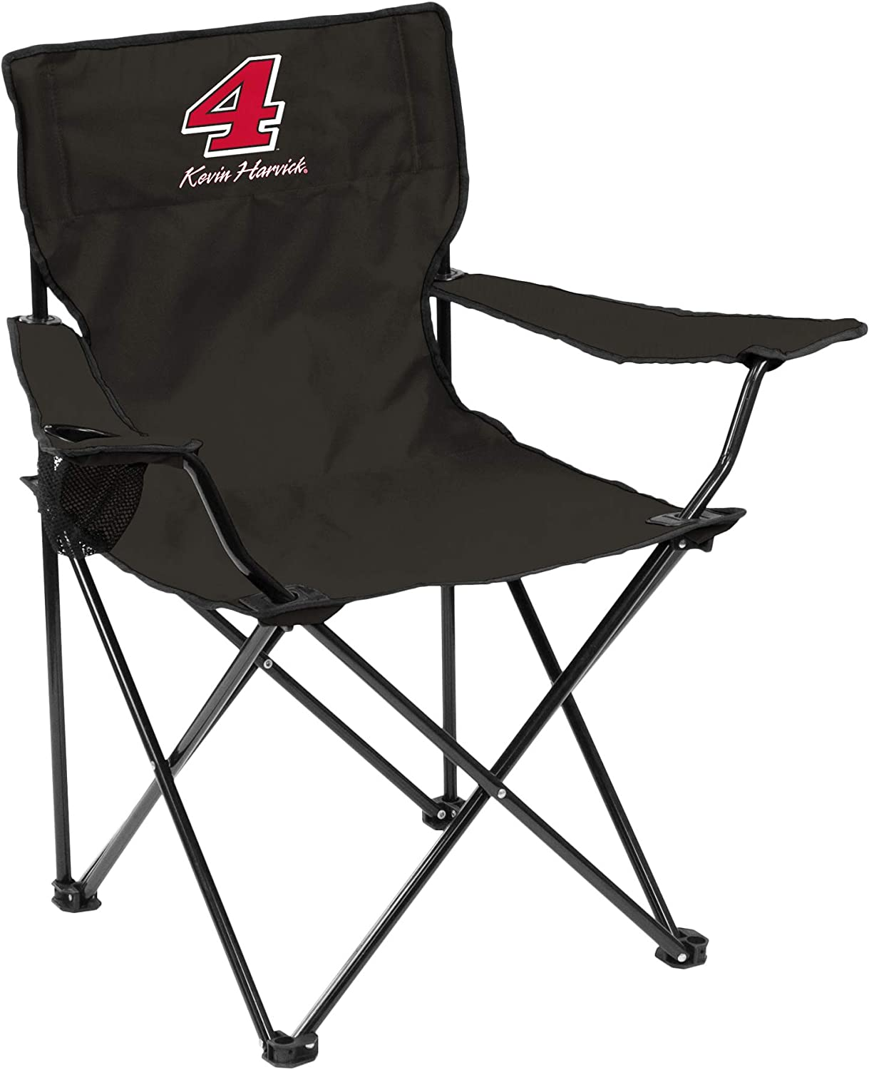 One Size Logo Brands NASCAR Stewart Haas Racing Unisex Quad Chair Titan Blue